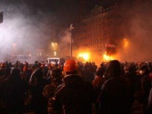 Фото: Заворушення на Грушевського: кількість постраждалих з обох сторін