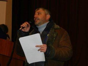 Фото: Юрій Бублик про захоплення Полтавської облради: стоятимемо, доки не вирішиться доля України