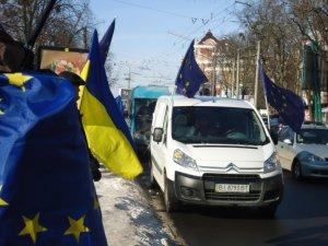 Фото: Автомайдан сьогодні заїде до мера Полтави