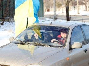 Фото: Полтавські автомайданівці приїздили до мера (+фото)