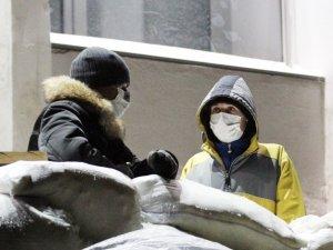 Фото: Збори Народної ради полтавського Євромайдану: створено загони самооборони