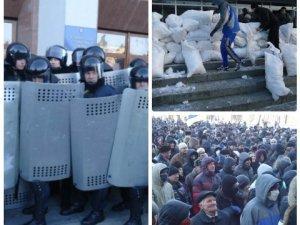 Фото: Прес-секретар полтавської міліції пояснив ВВС, чому силовики пустили в облраду мітингувальників
