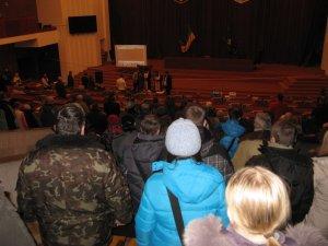 Фото: У приміщенні обласної ради пройшло чергове Народне віче