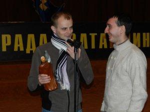 Фото: Недільне віче у Полтаві: Чабановському вручили подарунок з нагоди Дня народження