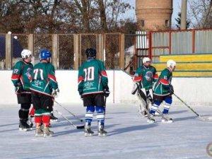 Фото: У Гребінці стартував чемпіонат Полтавщини з хокею (фото)