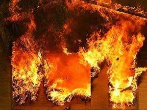Фото: Пожежа на Полтавщині: в Кременчуцькому районі у вогні загинула 100-річна бабуся
