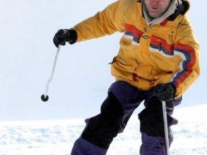 Фото: У Сорочиному Яру полтавських школярів учили кататися на лижах. Фотоогляд