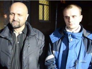 Фото: Відео. Активісти полтавського майдану Чабановський та Ворона прокоментували нічний виклик до міліції