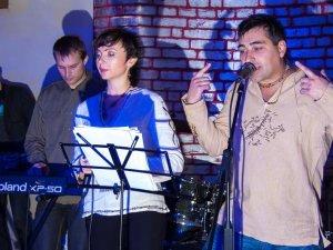 Фото:  «Oneyroid» зіграв у новому полтавському клубі та презентував альбом «Розрита могила»