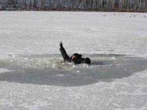 Фото: На Полтавщині чоловік провалився під кригу та потонув