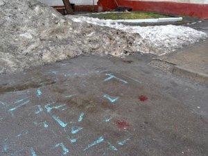 Міліція оприлюднила фото з місця вбивства судді в Кременчуці