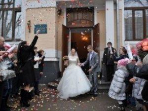 Фото: Весілля на День закоханих із дотриманням давніх традицій у Полтаві