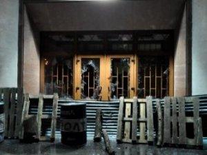 Фото: Міліція порушила кримінальну справу за спробу захоплення облдержадміністрації в Полтаві