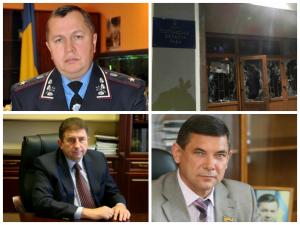Фото: Звернення головного міліціонера та очільників Полтавської області до жителів міста