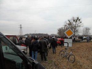 Фото: На Лубенщині зупиняють автобуси з тітушками
