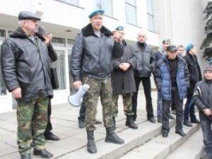 Фото: Повітрянодесантні війська закликали полтавців мобілізуватись, але не панікувати