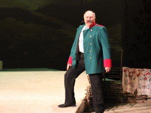 Фото: У полтавському театрі Гоголя відбулась прем'єра: словами Шевченка про сьогодення (+фото)