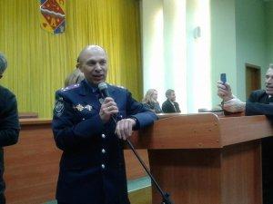 Фото: Іван Корсун близько 2 годин відкидав звинувачення у свій бік на народному віче в Полтаві
