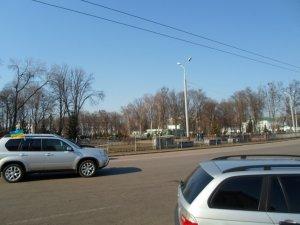Фото: З Корпусного парку Полтави зникли плакати з афоризмами Шевченка (оновлено)