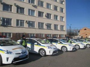 Фото: ДАІ Полтавщини отримала 15 нових авто Toyota Prius (фото)