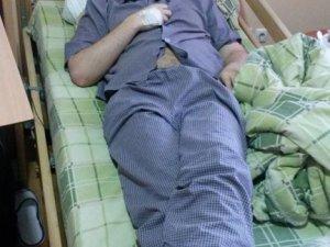 Фото: Травмований на Майдані Михайло Скляр п'ять днів боявся звернутися до лікарів
