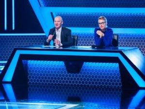 Фото: Собчак та Кошовий стали суддями нового шоу «Зіграй у ящик» на «1+1»