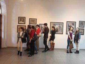 Фото: Закриття виставки до 200-річчя з дня народження  Шевченка полтавці поєднали з літературним вечором