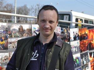 У центрі Полтави під відкритим небом показали київський Майдан