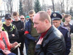 Фото: У Полтаві міліція затримала 5, а у Лохвиці – 30 представників «Правого сектору»