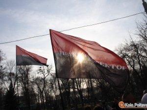 """Фото: Активісти """"Правого сектору"""", яких били у Лохвицькому районі, стверджують, що їх пограбували"""