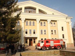 Фото: Через пожежу полтавський театр Гоголя не працюватиме до травня: звернення колективу