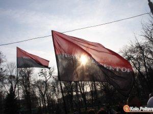 """Фото: В полтавській міліції заяву про те, що """"Правий сектор"""" у Лохвицькому районі били і пограбували – назвали піаром"""