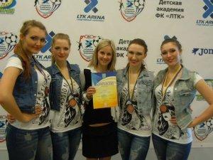 Фото: Полтавські студентки посіли 3 місце на ювілейному Чемпіонаті України з черлідингу