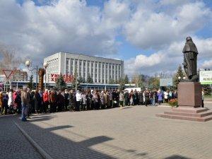 Фото: 205-річницю від дня народження Гоголя відзначили в Миргороді