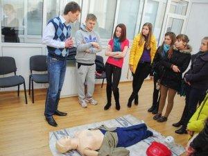 Фото: Для полтавських студентів організували курси з надання першої медичної  допомоги