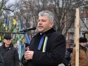 Фото: Нардеп Бублик на віче прокоментував звільнення начальника міліції Полтави