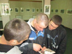 Фото: У Кременчуці підопічним виховної колонії показали виставку картин