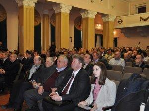 Фото: Міністр аграрної політики на Полтавщині подивився на виробництво альтернативного газу та саморобні комбайни