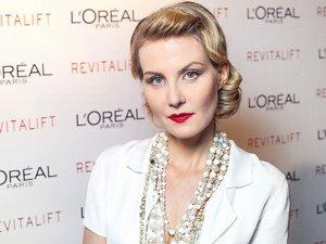 Фото: Литвинова знімає фільм для відомого бренду косметики