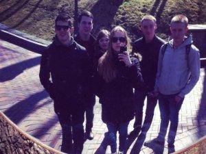 Фото: Полтавські студенти відвідали Межигір'я та Київський Майдан