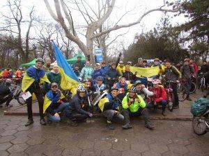 Фото: Полтавські велосипедисти приєднались до одеського велоралі