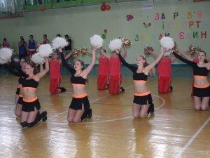 Фото: У Полтаві відбувся відкритий чемпіонат з черлідингу