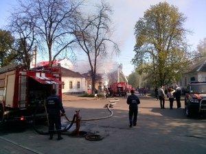 Згорів ще один офіс Партії Регіонів