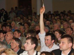 Фото: У Полтаві побував кандидат у Президенти – Анатолій Гриценко