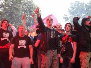 Фото: Футбольні фани провели Марш єдності у Полтаві (фотомиттєвості)