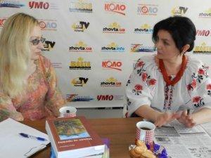Фото: Письменниця Марина Павленко: «Полтава – місто каштанів»