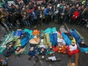 Фото: Міліція відзвітувала, що знає імена убивць 46 майданівців