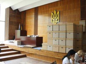 Фото: У ОВК перші протоколи з виборчих дільниць очікуватимуть ще до півночі