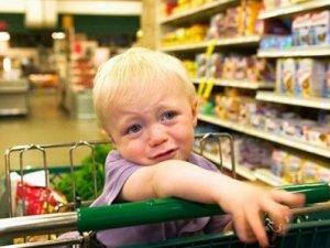 """Фото: Причини дитячої """"магазинної"""" істерики"""