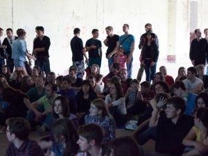 В Кадетському корпусі презентували нову серію нашумілого мультика Mr. Freeman (фото)